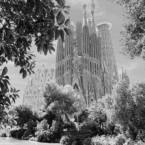 Kathedrale Sagrada Familia in Barcelona